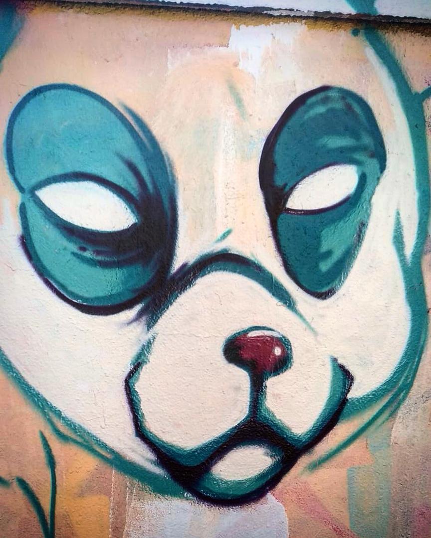 Wallspot - MEGUI - PandaPokemon - Barcelona - Selva de Mar - Graffity - Legal Walls - Il·lustració, Altres
