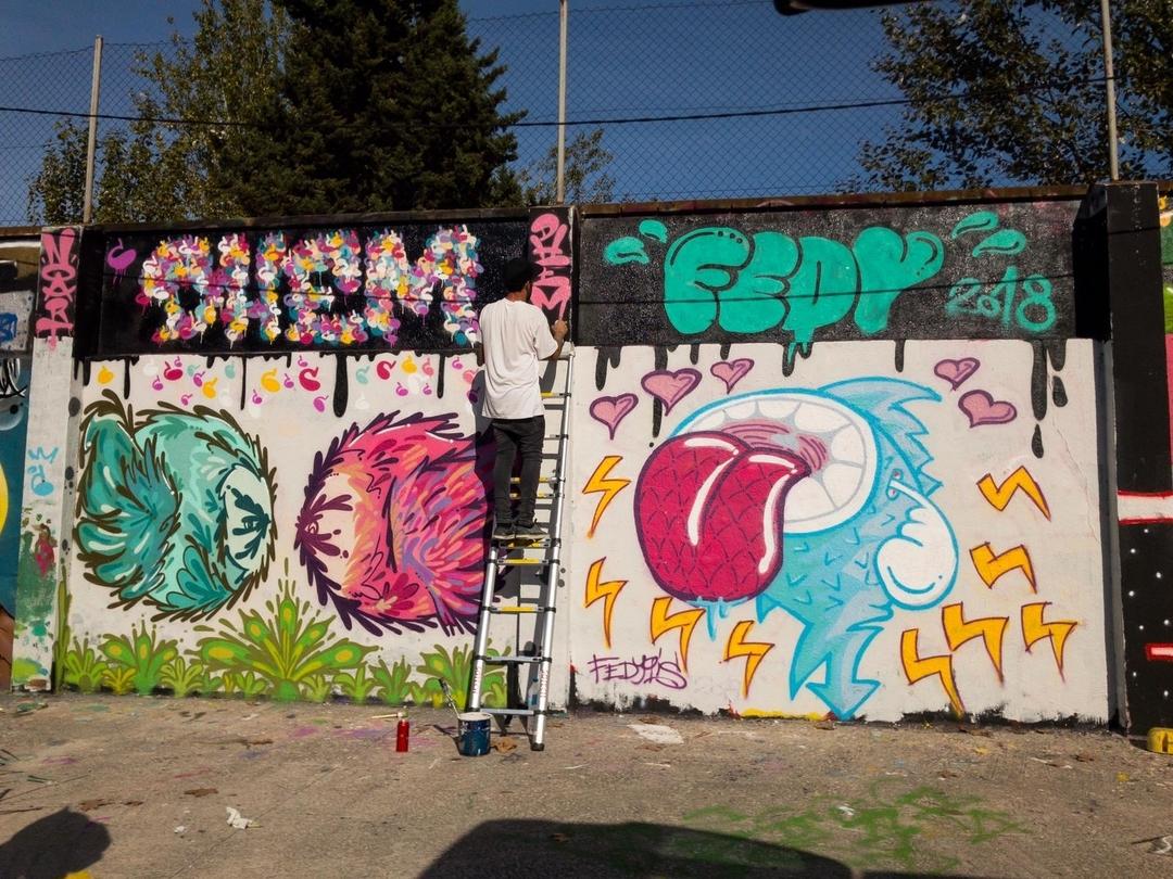 Wallspot - dhemart -  - Barcelona - Agricultura - Graffity - Legal Walls -