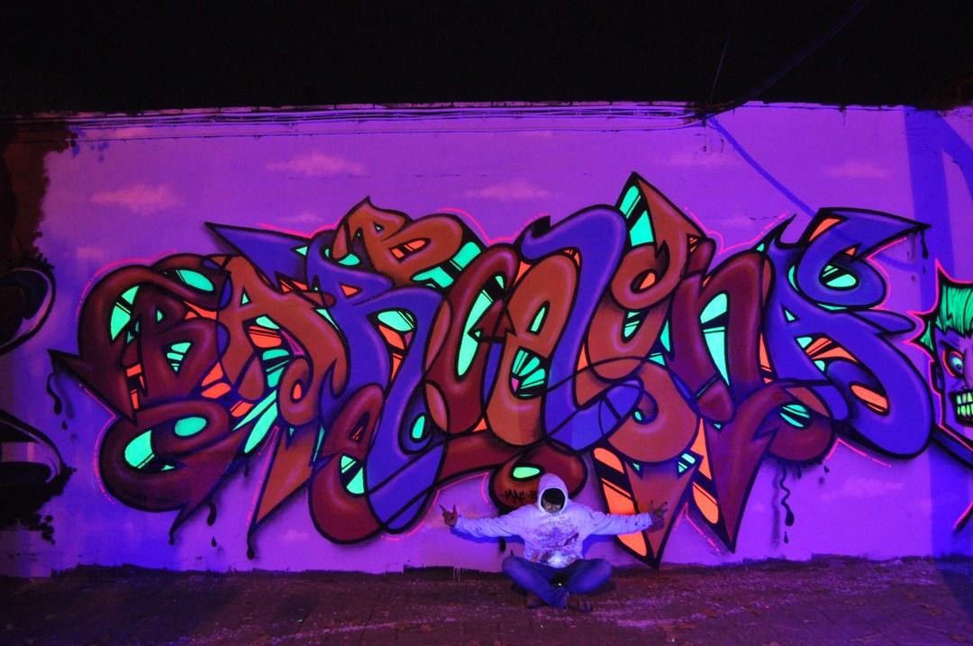Wallspot - BRE - Selva de Mar - BRE - Barcelona - Selva de Mar - Graffity - Legal Walls - Letters, Illustration