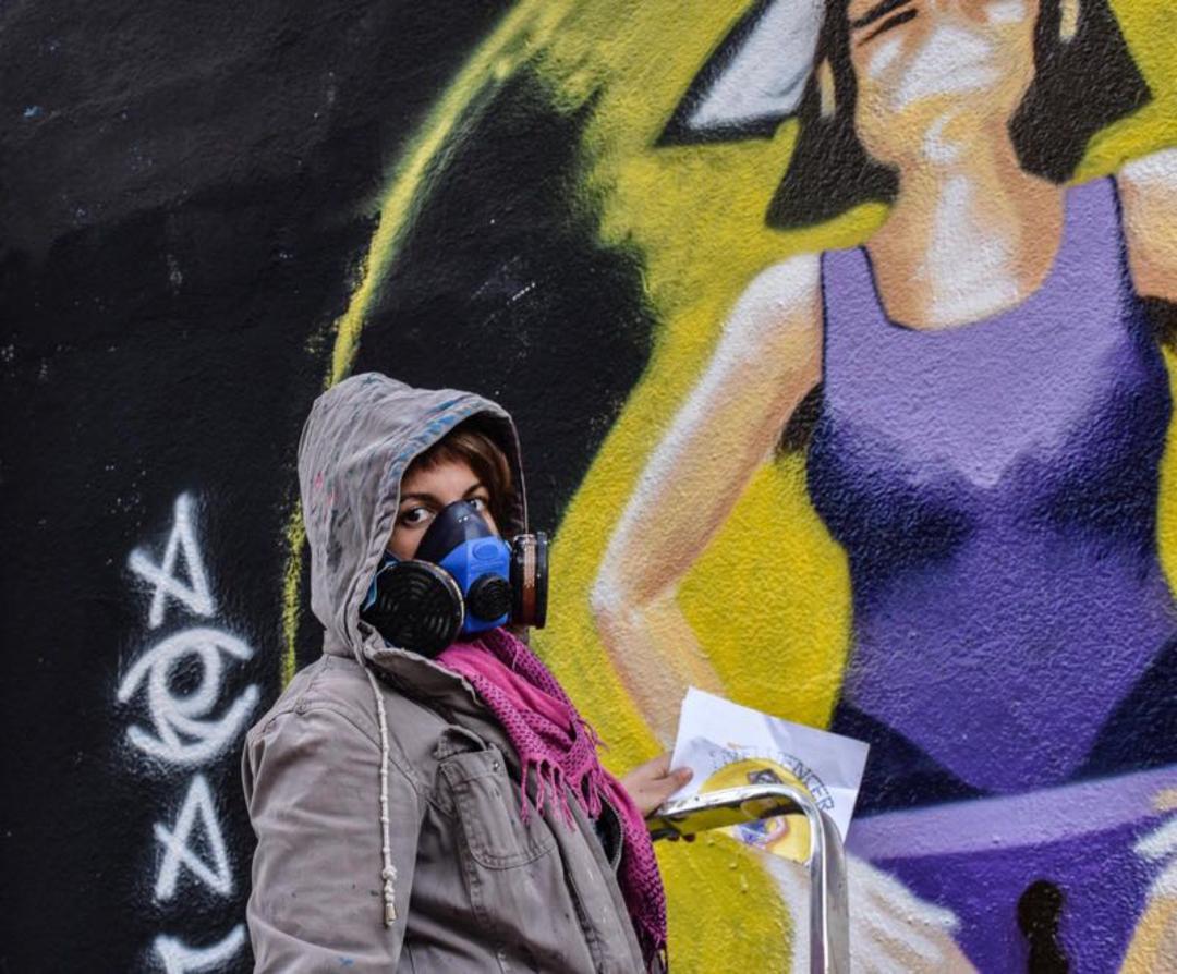 Wallspot - araL - my rules - Barcelona - Agricultura - Graffity - Legal Walls - Il·lustració