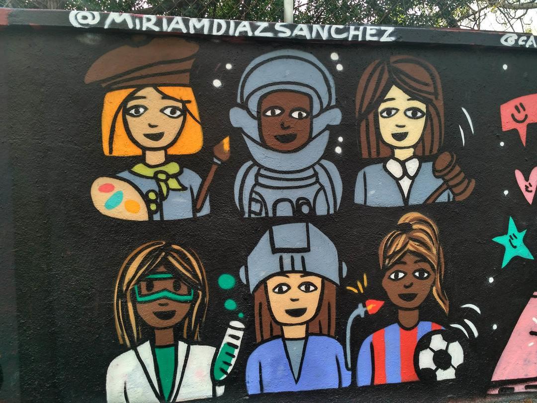Wallspot - evalop - evalop - Proyecto 29/11/2018 - Barcelona - Agricultura - Graffity - Legal Walls - Ilustración - Artist - miriam diaz sanchez