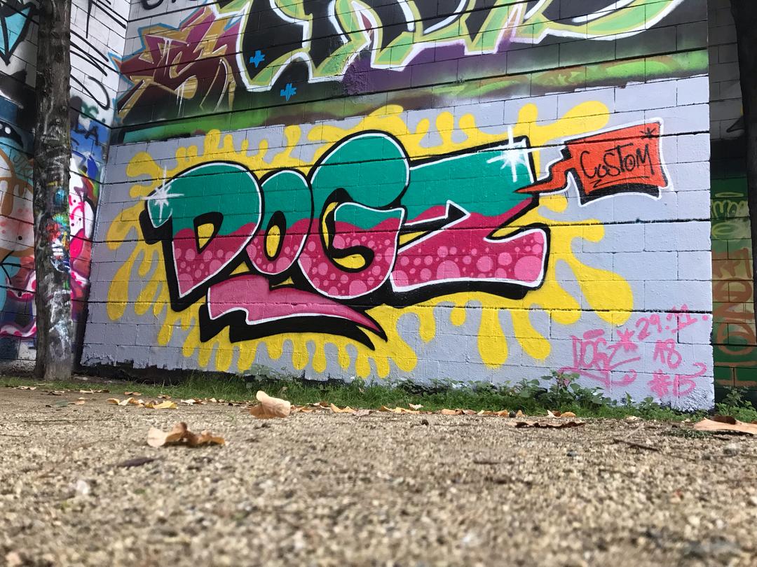 Wallspot - Dogz - DoGz#5 - Barcelona - Drassanes - Graffity - Legal Walls - Letters