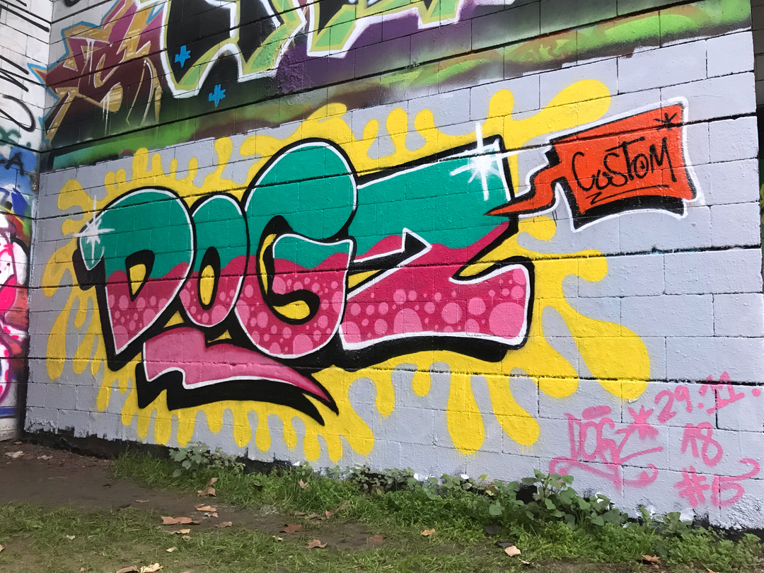 Wallspot - Dogz - DoGz#5 - Barcelona - Drassanes - Graffity - Legal Walls -
