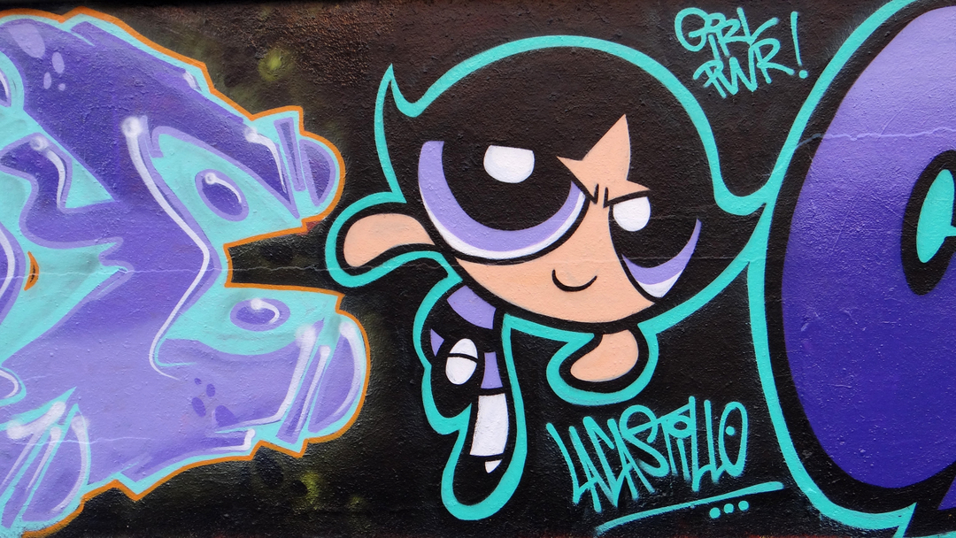Wallspot - LaCastillo - GRL PWR!! - Barcelona - Agricultura - Graffity - Legal Walls - ,