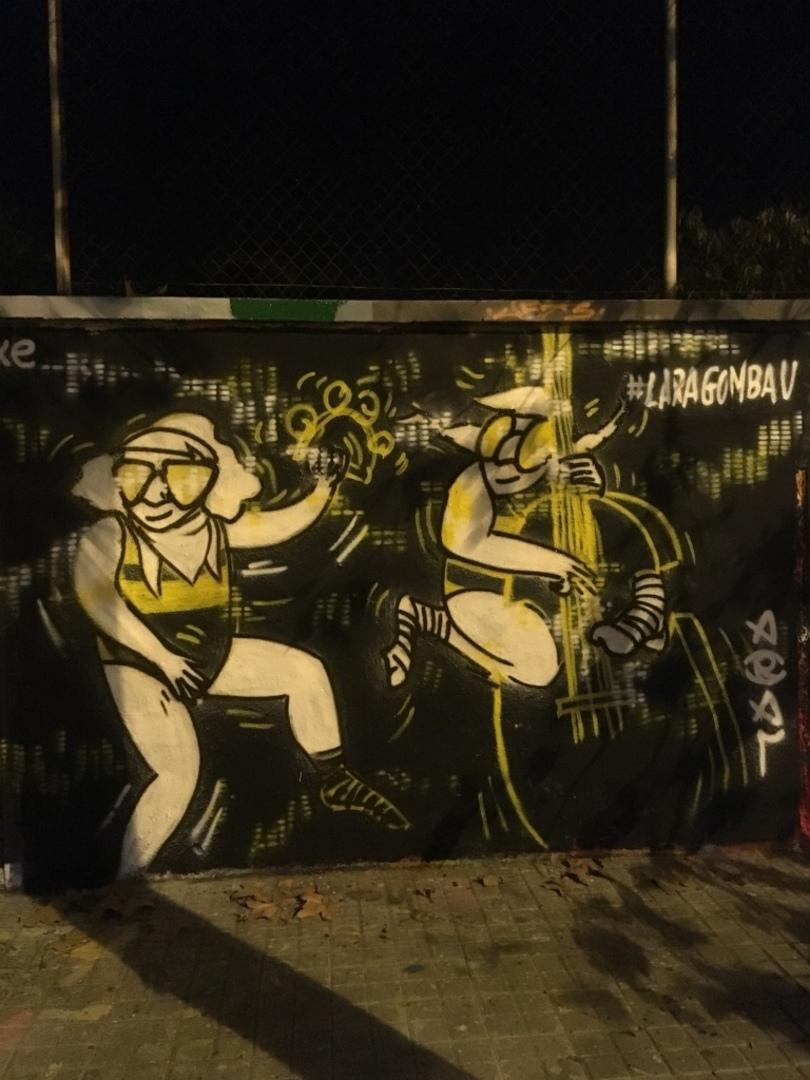 Wallspot - araL -  aRaLiLaPiNXe - Barcelona - Agricultura - Graffity - Legal Walls - Il·lustració