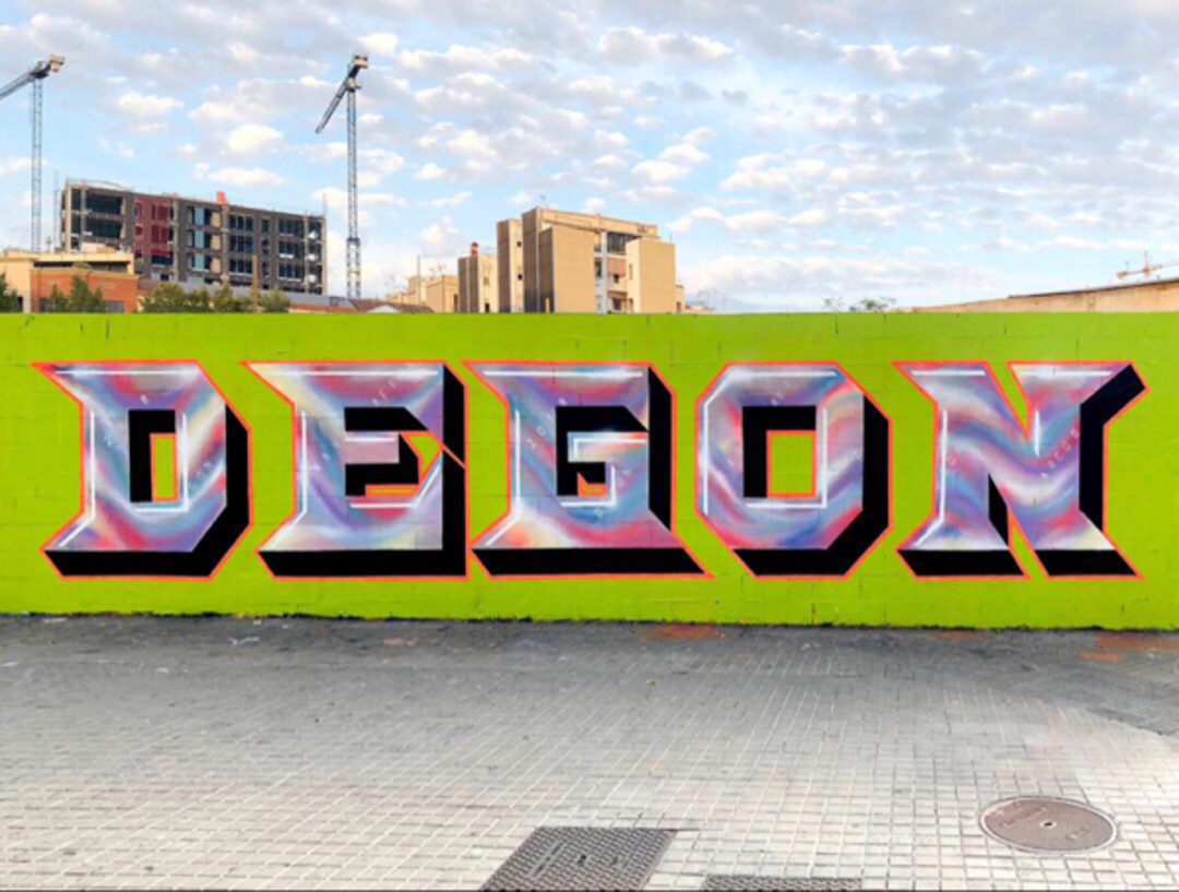 Wallspot - degon -  - Barcelona - Poble Nou - Graffity - Legal Walls -