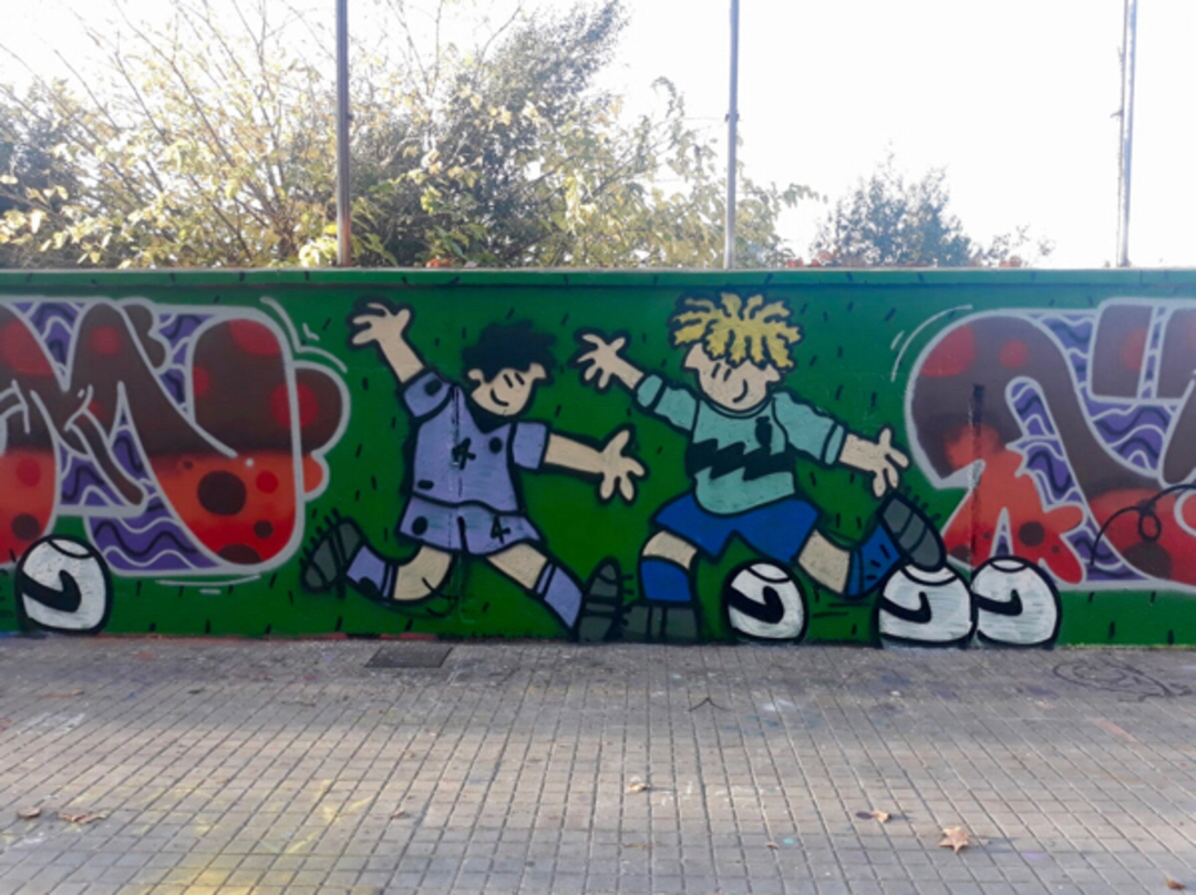 Wallspot - kamil escruela -  - Barcelona - Agricultura - Graffity - Legal Walls -