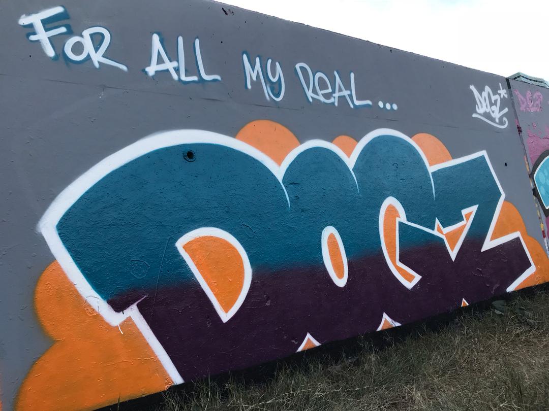Wallspot - Dogz -  - Barcelona - Forum beach - Graffity - Legal Walls - Letters