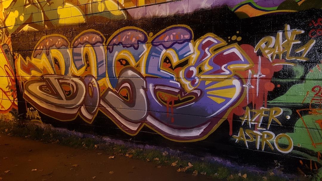 Wallspot - mark -  - Barcelona - Drassanes - Graffity - Legal Walls -
