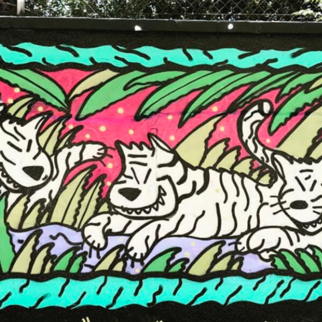 Wallspot - kamil escruela -  - Barcelona - Tres Xemeneies - Graffity - Legal Walls -