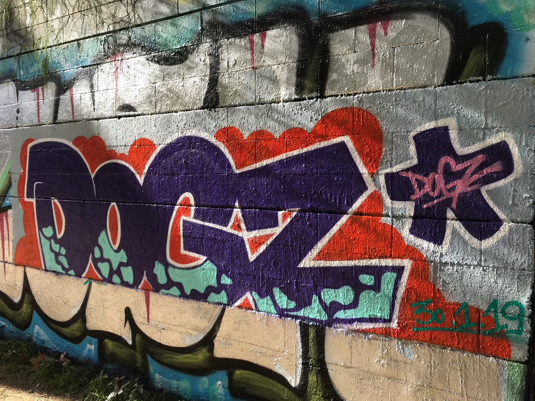 Wallspot - Dogz -  - Barcelona - Drassanes - Graffity - Legal Walls - Letters