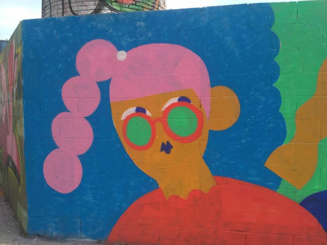 Wallspot - evalop - evalop - Proyecto 03/02/2019 - Barcelona - Poble Nou - Graffity - Legal Walls - Illustration - Artist - EmilyE