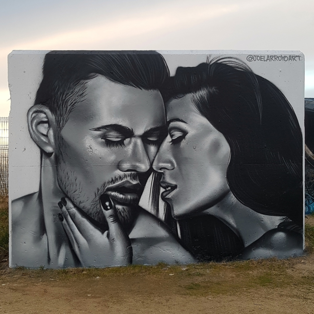 Wallspot - Joelarroyo - Forum beach - Barcelona - Forum beach - Graffity - Legal Walls -