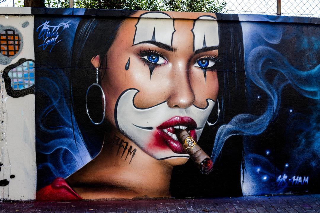 Wallspot - JOAN PIÑOL - BUBLEGUM - Barcelona - Agricultura - Graffity - Legal Walls - Illustration