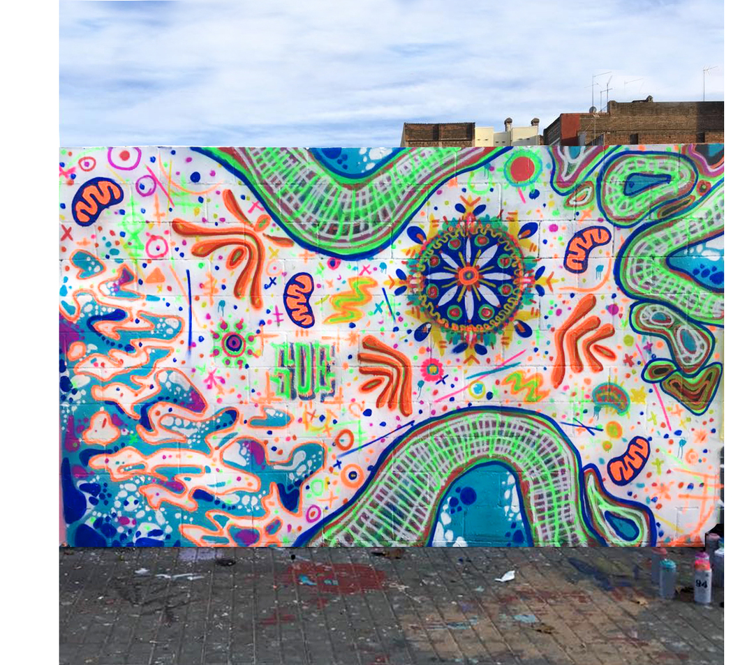 Wallspot - s o e - Poble Nou - s o e - Barcelona - Poble Nou - Graffity - Legal Walls -