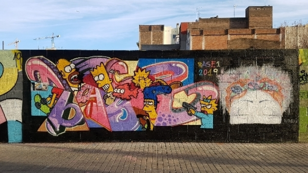 Wallspot - mark -  - Barcelona - Poble Nou - Graffity - Legal Walls -