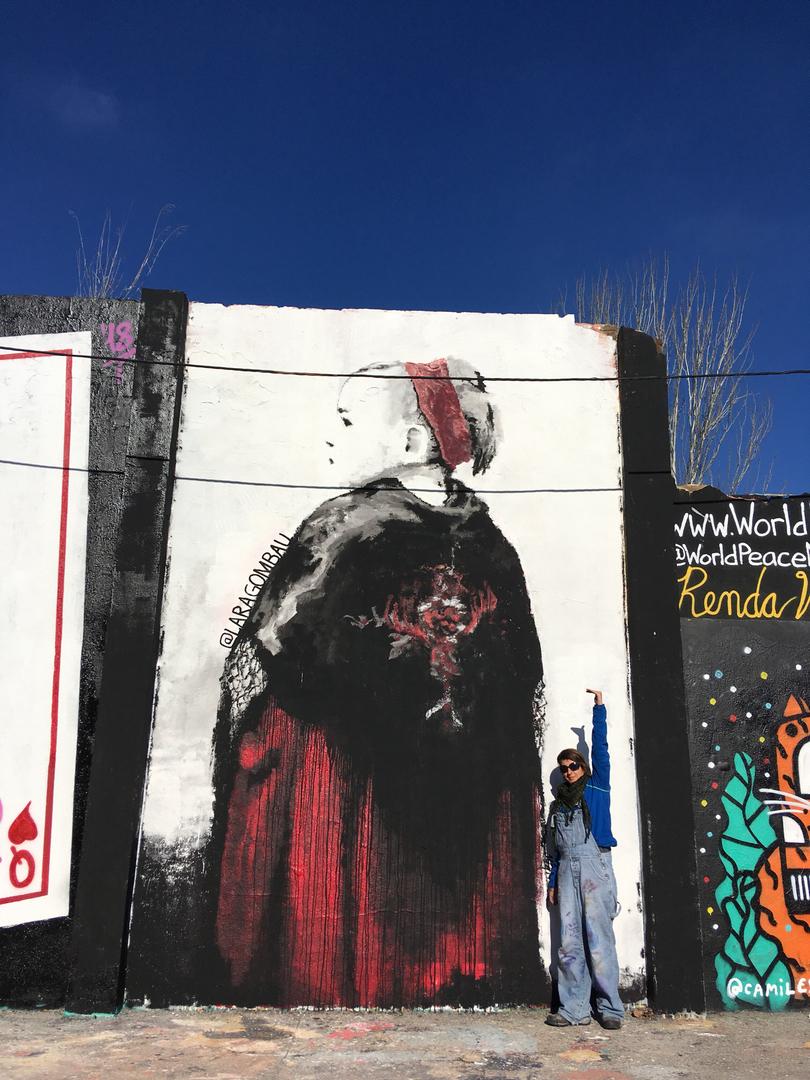 Wallspot - araL - Txim-Txim - Barcelona - Agricultura - Graffity - Legal Walls - Il·lustració