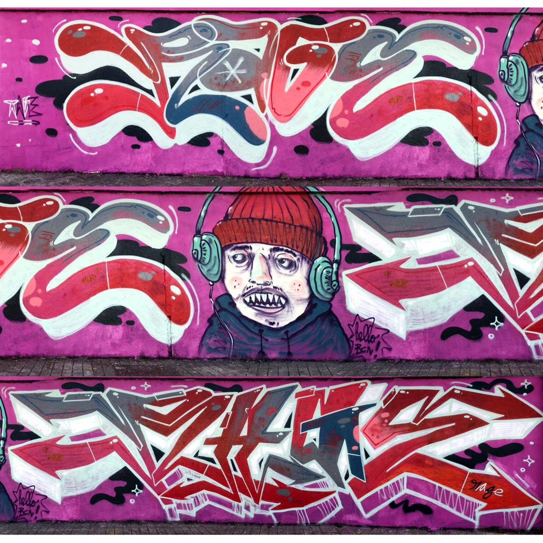 Wallspot - Ragestudio -  - Barcelona - Agricultura - Graffity - Legal Walls -