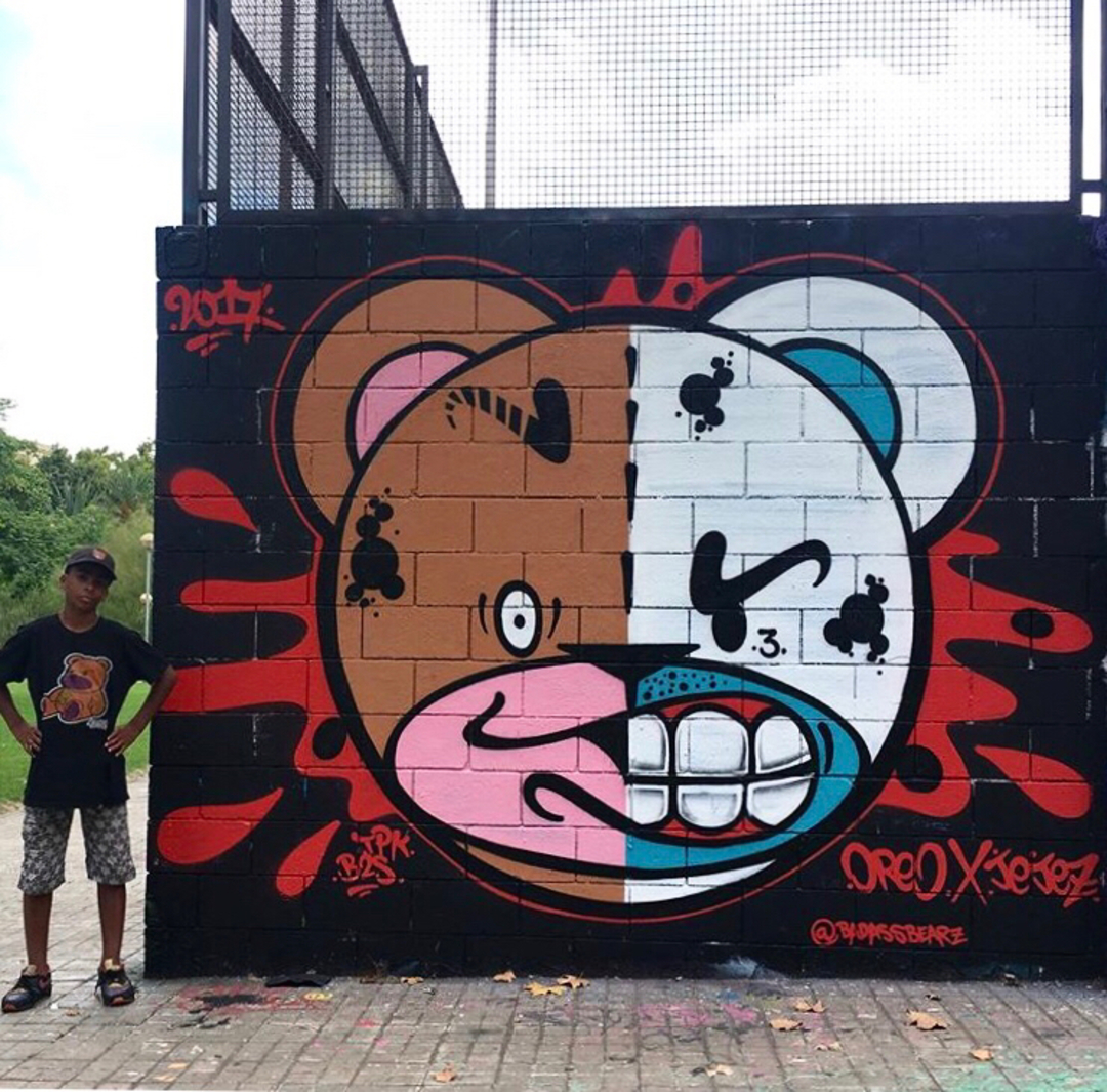 Wallspot - Zach OREO - With the Lil Brother!!! - Barcelona - Drassanes - Graffity - Legal Walls - Illustration, Others