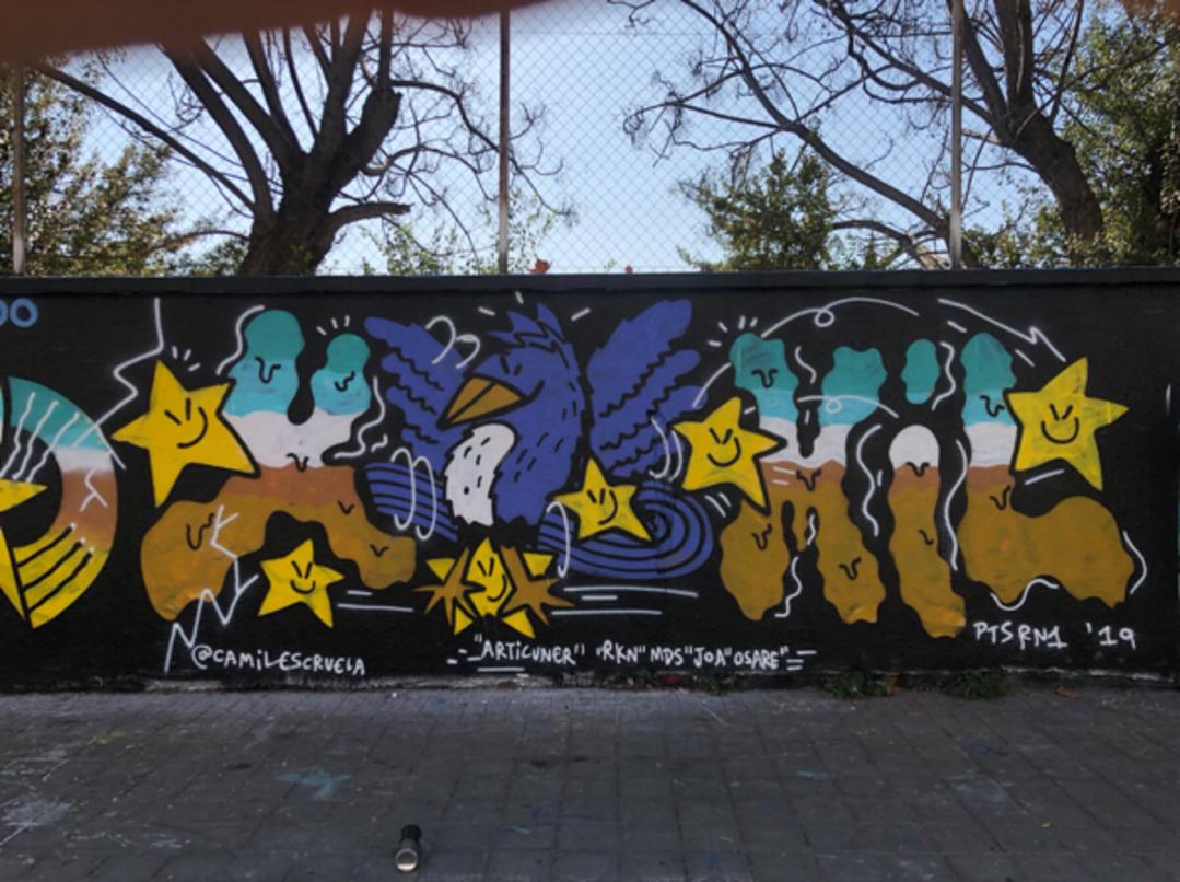 Wallspot - kamil escruela -  - Barcelona - Agricultura - Graffity - Legal Walls -