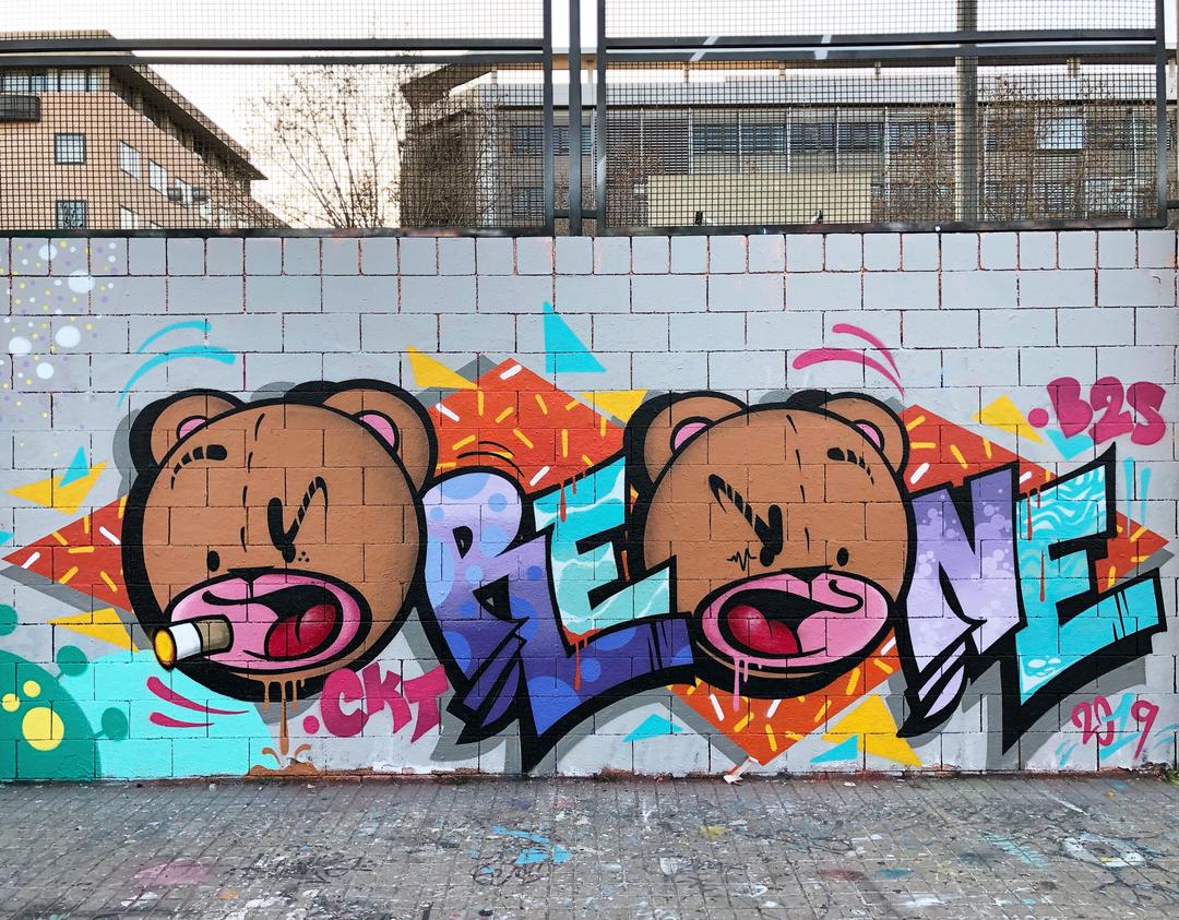 Wallspot - Zach OREO - Oreone - Barcelona - Drassanes - Graffity - Legal Walls -