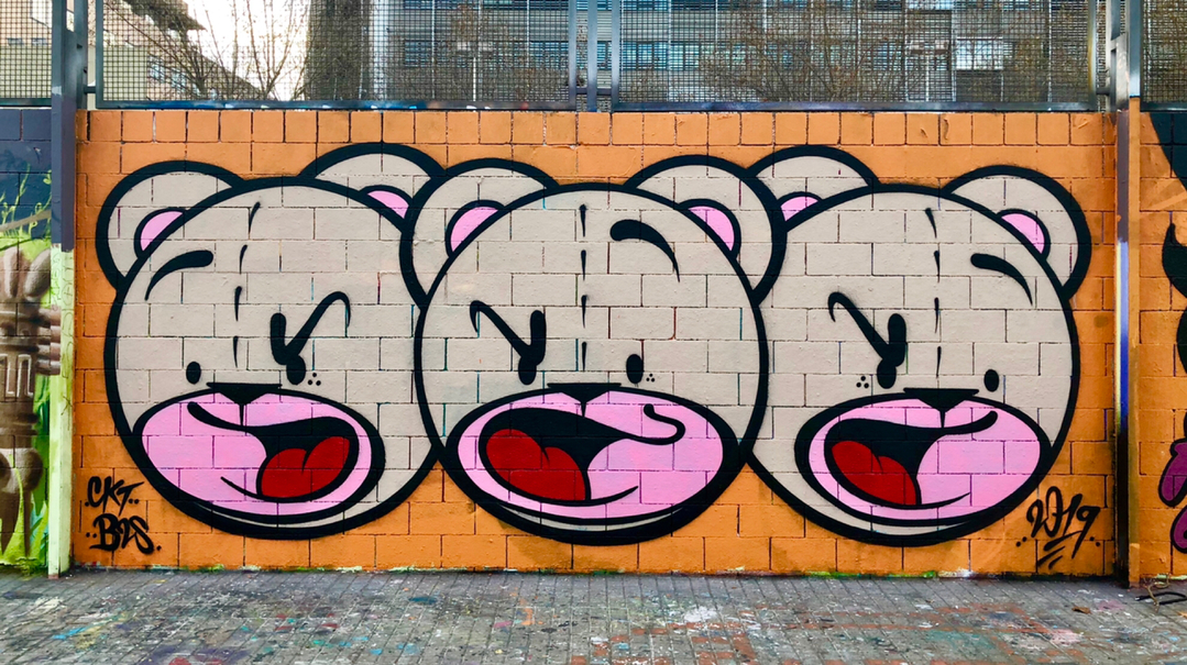 Wallspot - Zach OREO -  - Barcelona - Drassanes - Graffity - Legal Walls -