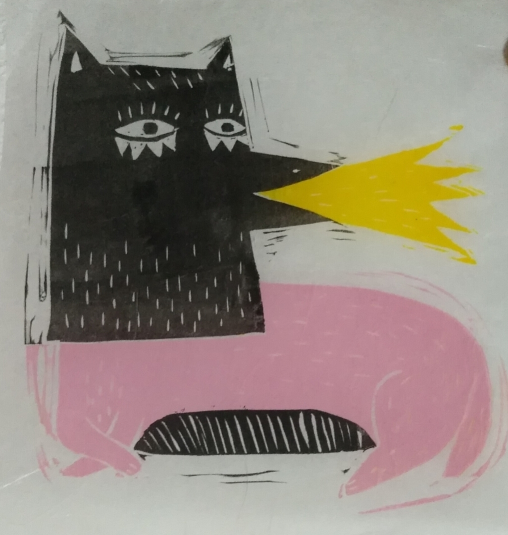 Wallspot - Anna Tó - Firewolf - Barcelona - Parc de la Bederrida - Graffity - Legal Walls - Illustration