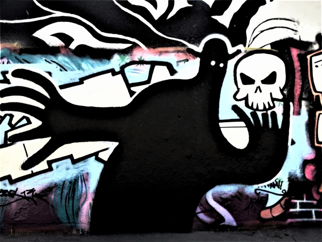 Wallspot - Waldacting - Tres Xemeneies - Waldacting - Barcelona - Tres Xemeneies - Graffity - Legal Walls -