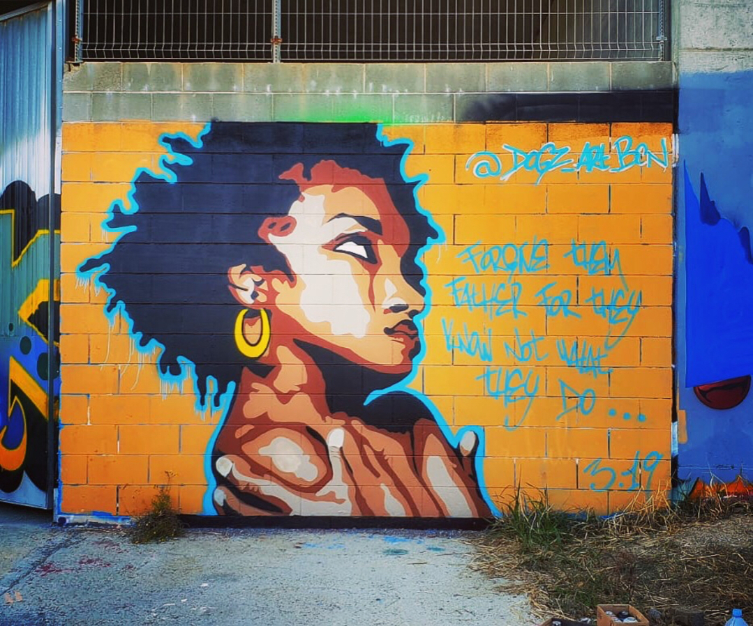 Wallspot - Dogz -  - Barcelona - Forum beach - Graffity - Legal Walls -
