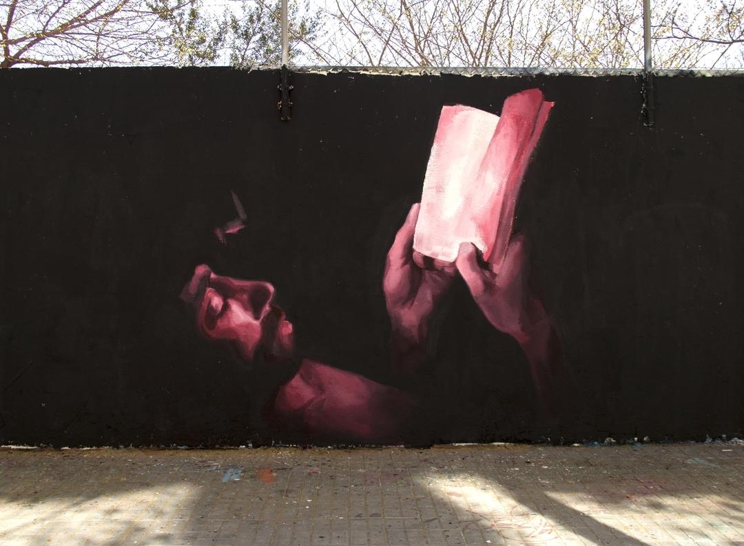 Wallspot - Mateu Targa - Lost - Barcelona - Agricultura - Graffity - Legal Walls - Il·lustració, Altres