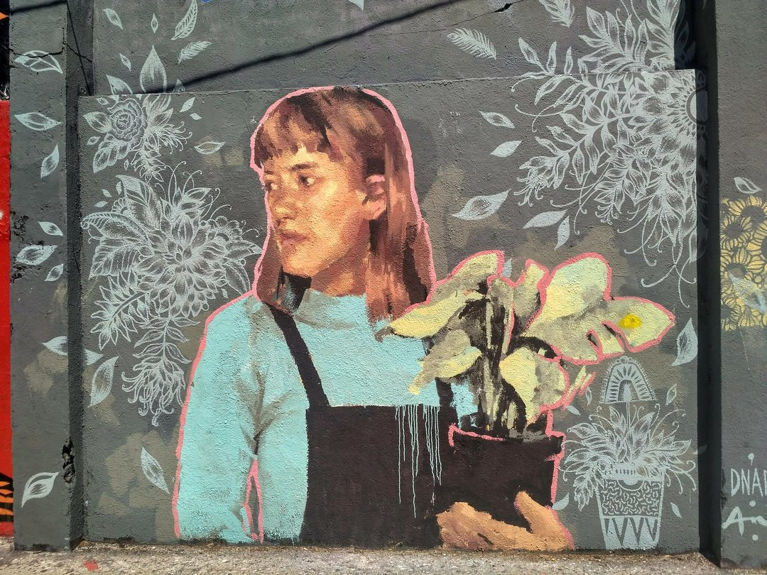 Wallspot - evalop - evalop - Proyecto 24/04/2019 - Barcelona - Agricultura - Graffity - Legal Walls - Illustration