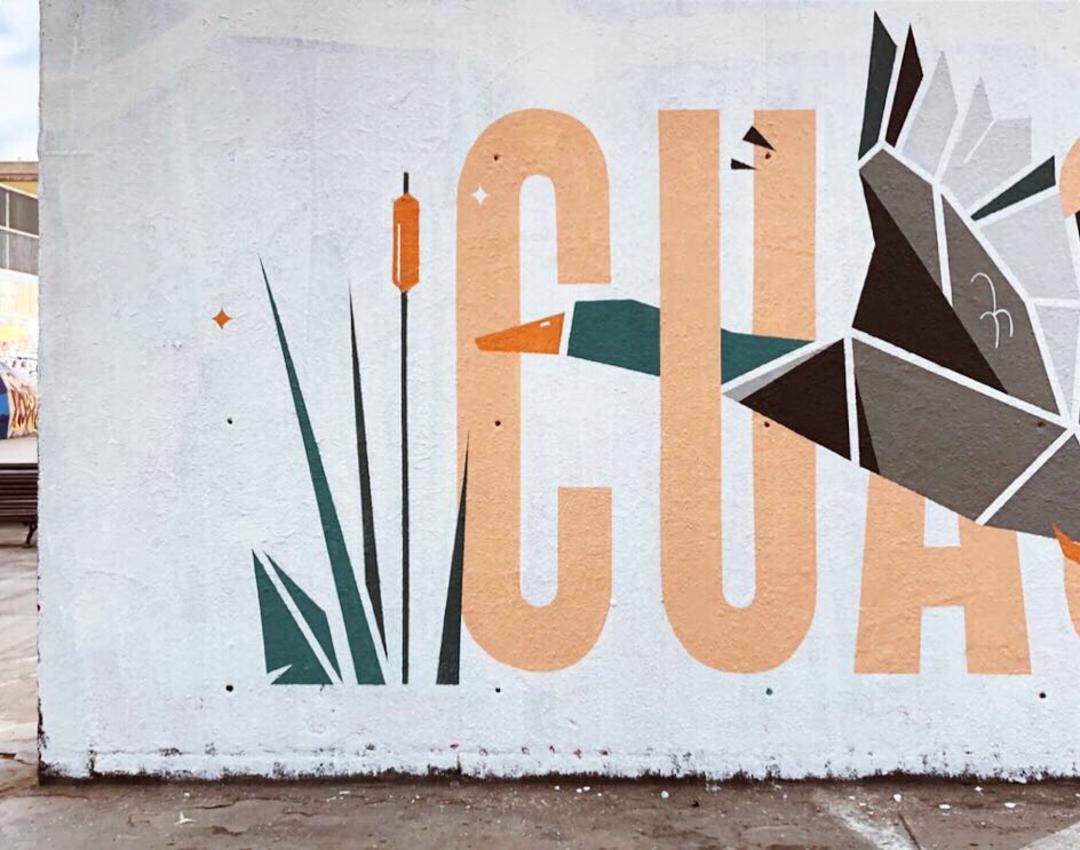 Wallspot - nuriatoll - CUAC! - Barcelona - Tres Xemeneies - Graffity - Legal Walls - Lletres, Il·lustració