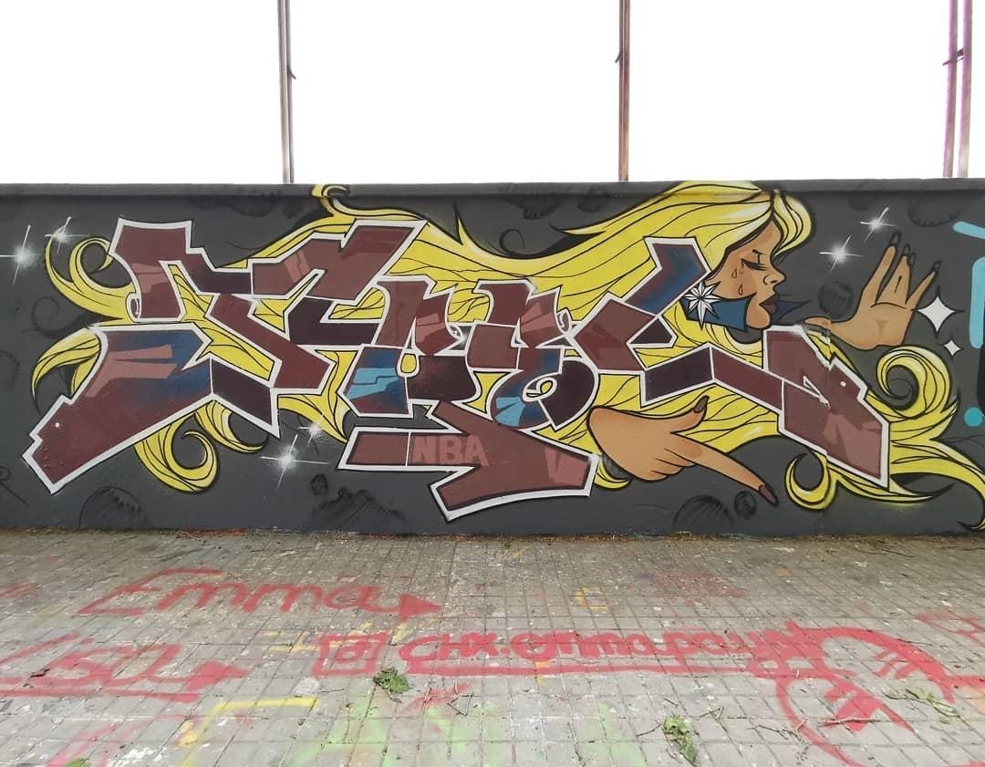 Wallspot - Joelarroyo - Agricultura - Barcelona - Agricultura - Graffity - Legal Walls - Letters