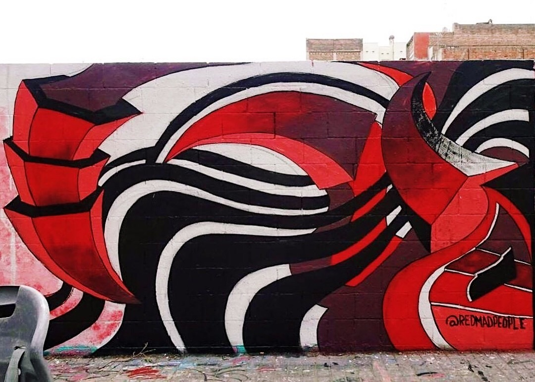 Wallspot - redmadpeople - A scorpio -  redmadpeople - Barcelona - Poble Nou - Graffity - Legal Walls - Illustration, Others