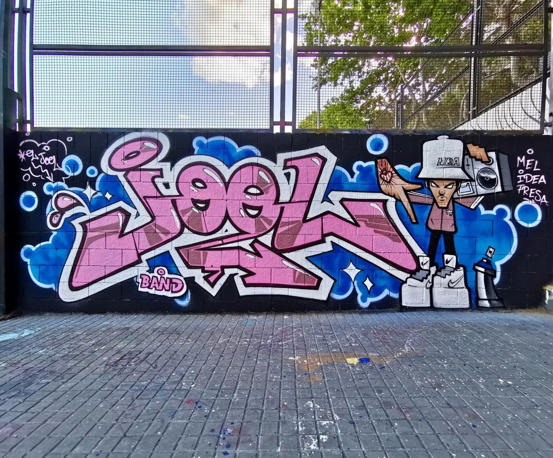 Wallspot - Joelarroyo - Drassanes - Barcelona - Drassanes - Graffity - Legal Walls -