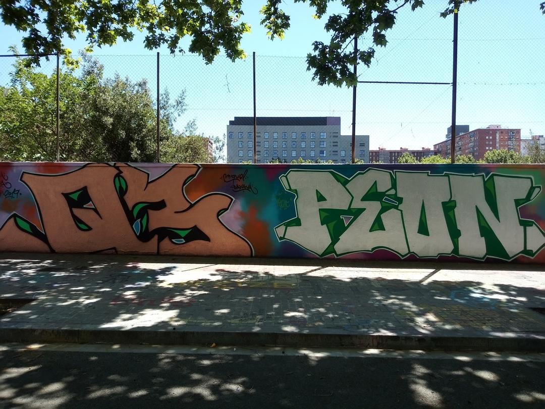 Wallspot - peone1 - Q3 - PEON - Barcelona - Agricultura - Graffity - Legal Walls - Lletres