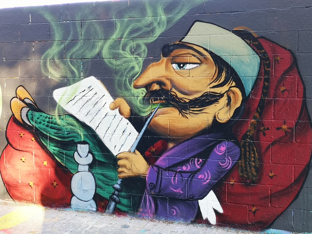 Wallspot - Hate_one -  - Barcelona - Poble Nou - Graffity - Legal Walls -