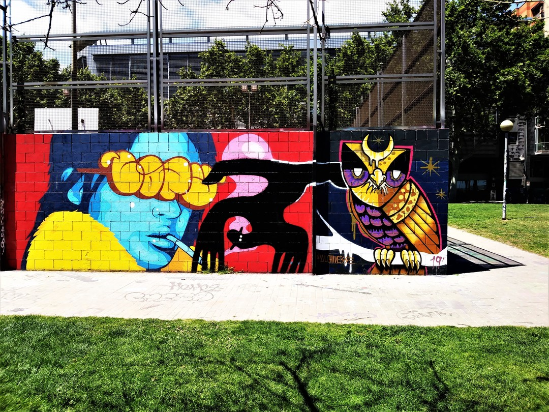 Wallspot - Waldacting - Drassanes - Barcelona - Drassanes - Graffity - Legal Walls -