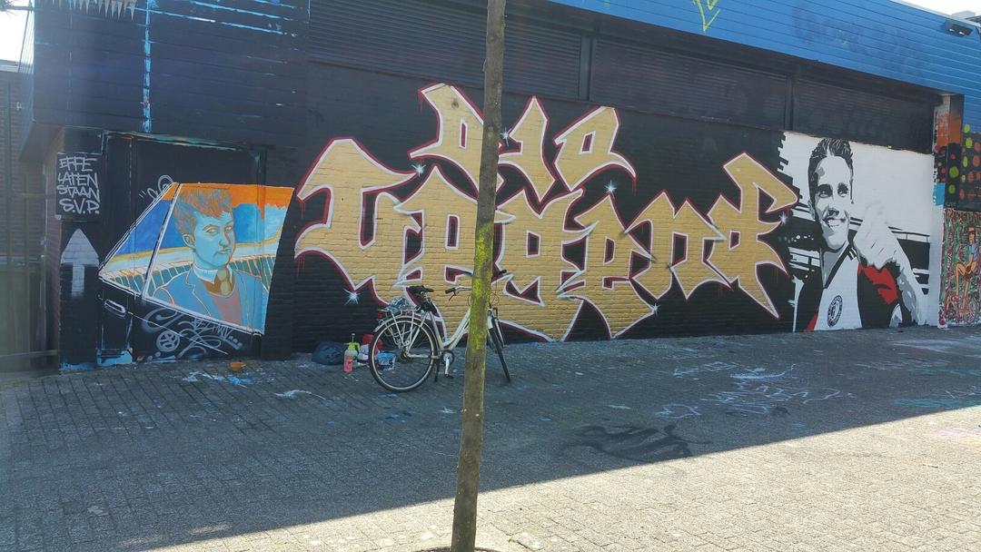 Wallspot - martijnbeelden -  - Rotterdam - Croos - Graffity - Legal Walls - Ilustración