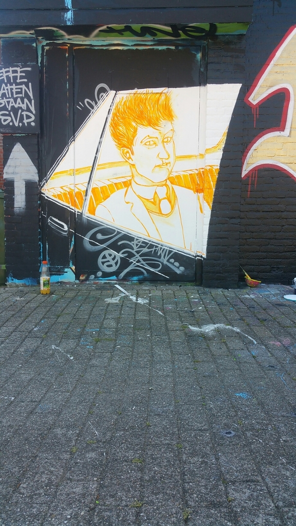 Wallspot - martijnbeelden -  - Rotterdam - Croos - Graffity - Legal Walls -