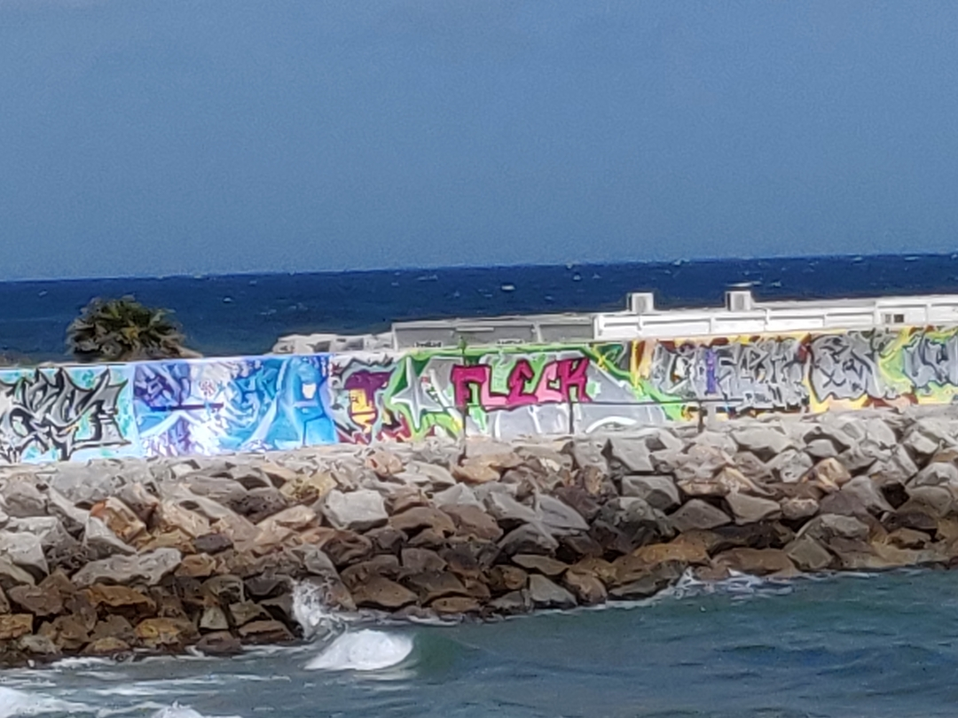 Wallspot - Lun -  - Barcelona - Forum beach - Graffity - Legal Walls -