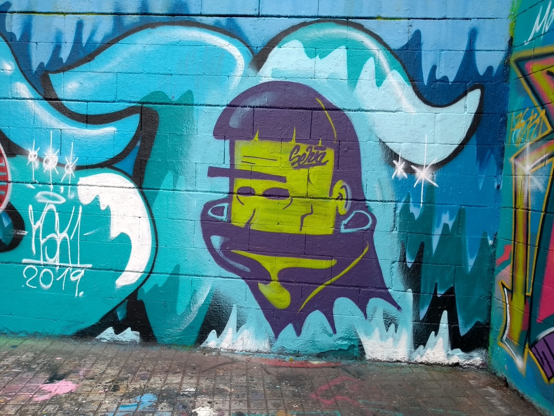 Wallspot - selva - El loco Rait - Barcelona - Drassanes - Graffity - Legal Walls -
