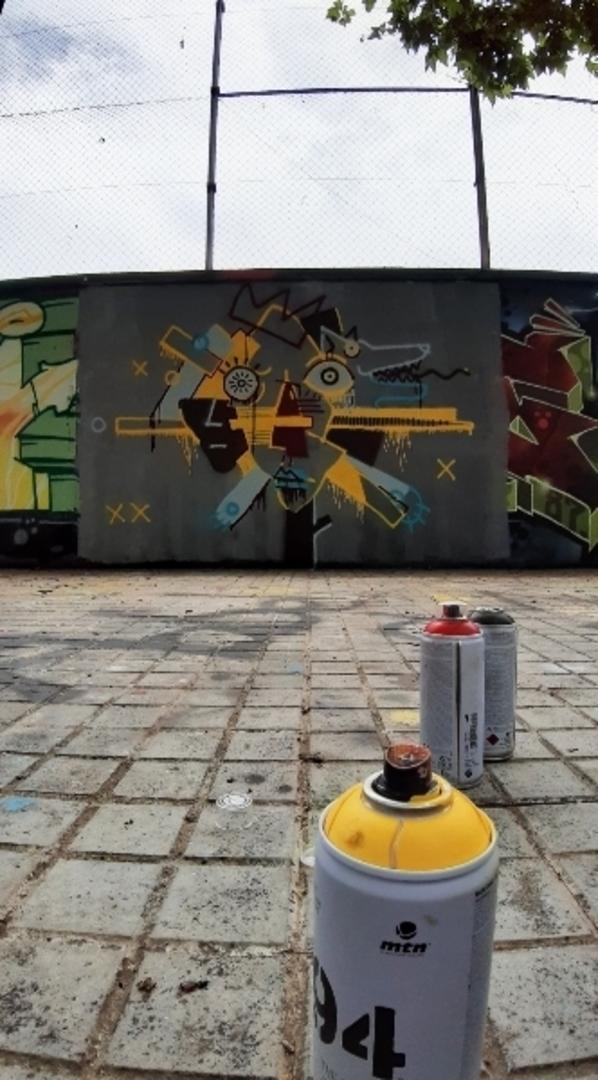 Wallspot - andjka - wolf - Barcelona - Agricultura - Graffity - Legal Walls - Il·lustració