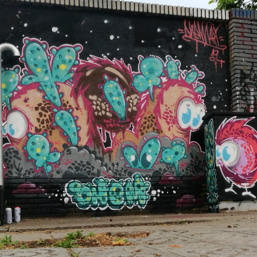 Wallspot - dhemart -  - Barcelona - Selva de Mar - Graffity - Legal Walls -