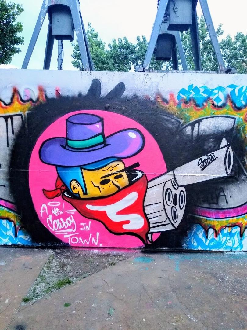 Wallspot - selva - Billy the Kief - Barcelona - Tres Xemeneies - Graffity - Legal Walls -