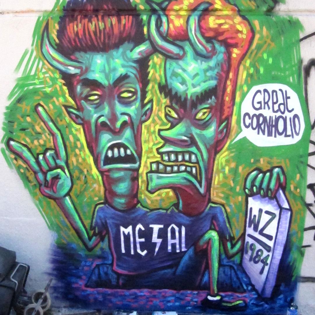 Wallspot - wz_1984 - Poble Nou - wz_1984 - Barcelona - Poble Nou - Graffity - Legal Walls -