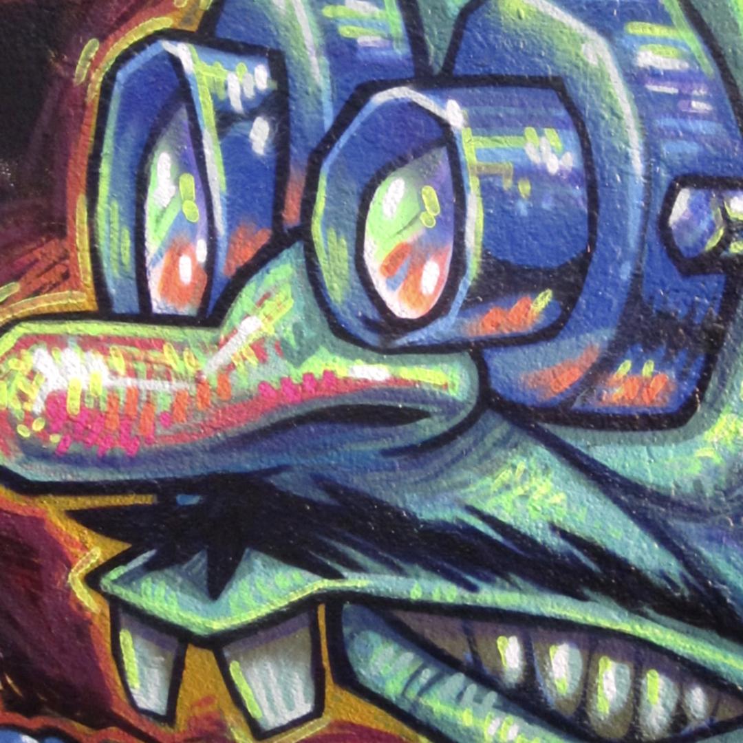 Wallspot - wz_1984 - Agricultura - wz_1984 - Barcelona - Agricultura - Graffity - Legal Walls -