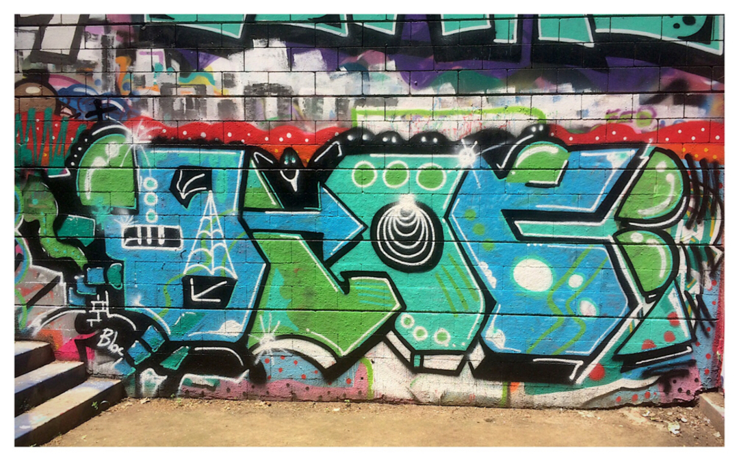 Wallspot - bloc - Drassanes - Barcelona - Drassanes - Graffity - Legal Walls - Letters