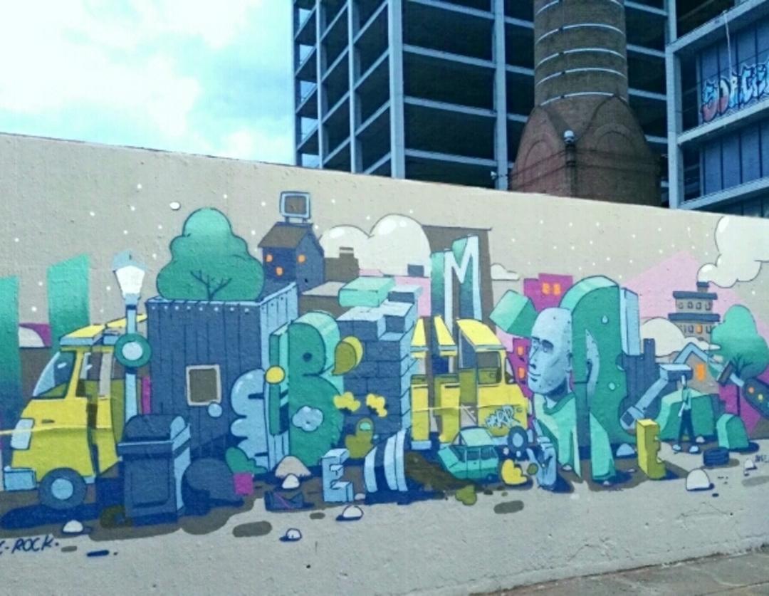 Wallspot - bemie - Tres Xemeneies - Barcelona - Tres Xemeneies - Graffity - Legal Walls - Il·lustració, Altres