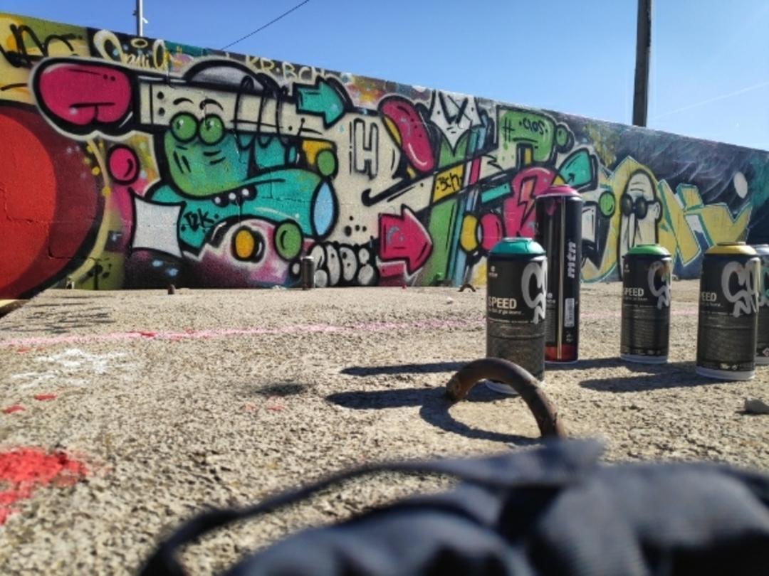 Wallspot - closMotiont2k -  - Barcelona - Parc de la Bederrida - Graffity - Legal Walls -